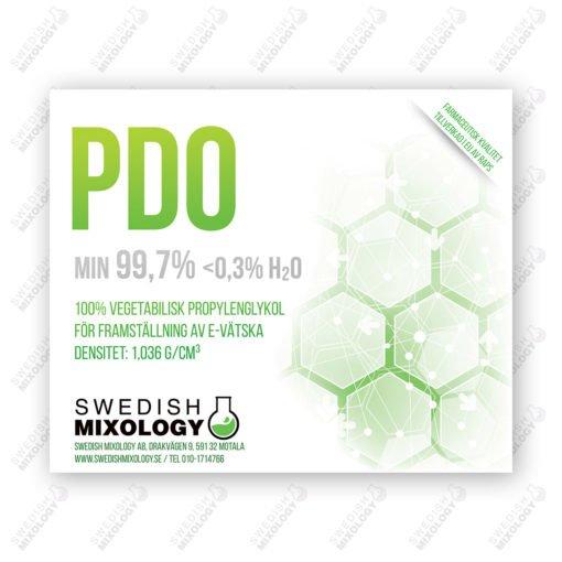 Vegetabilisk Propylenglykol PDO Bio-PG 1 liter