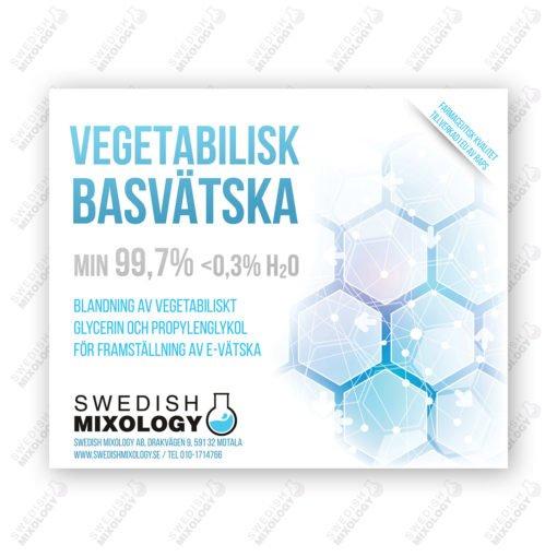 Vegetabilisk Basvätska Glycerin Monopropylenglykol propylenglykol PDO valfri blandning