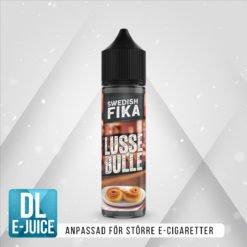 Swedish Mixology Fika Lussebulle Saffran Vape E-cigarett E-juice Shortfill