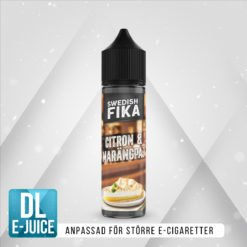 Swedish Mixology Fika Citron och Marängpaj Vape E-cigarett E-juice Shortfill