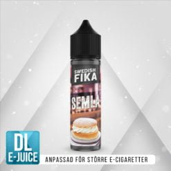 Swedish Mixology Fika Semla Vape E-cigarett E-juice Shortfill