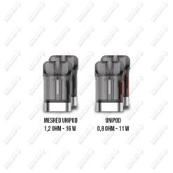Vaporesso XTRA Unipods & Meshed Unipods - 2-pack