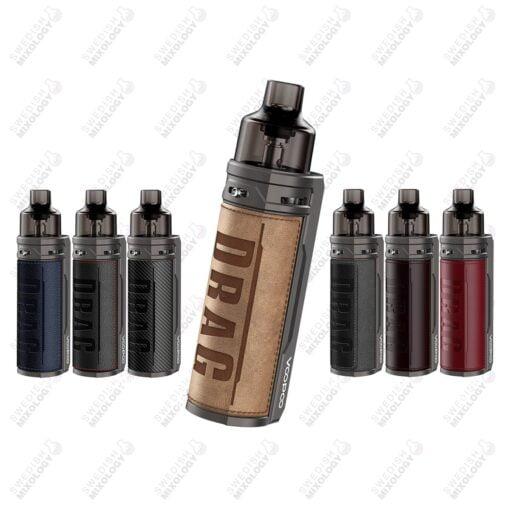 Voopoo Drag S e-cigarett Vape mod kit