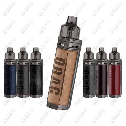 Voopoo Drag X e-cigarett vape mod komplett kit