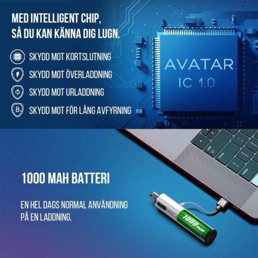 Joyetech Ego Pod - Intelligent Chip med skyddsfunktioner